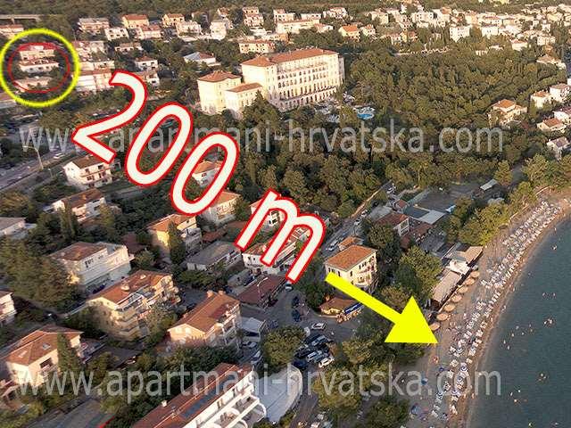 Accommodation near Crikvenica