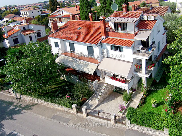 Accommodation near Rovinj