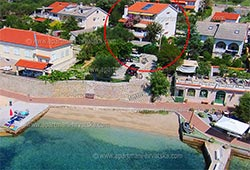 Holiday rentals Rab, Barbat  DEŽELJIN Ketty