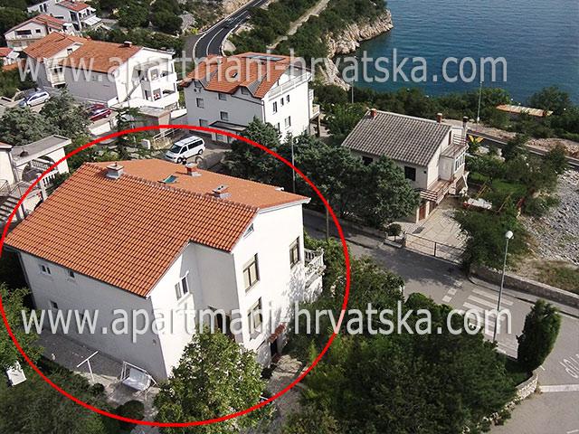 Apartmány Novi Vinodolski APARTMANI KRISKOVIC
