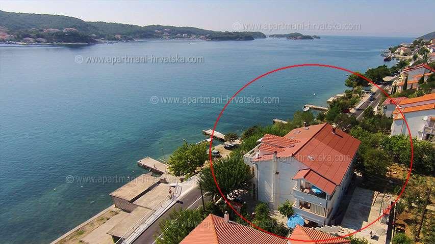 Apartmány Supetarska Draga TOMULIĆ ANA