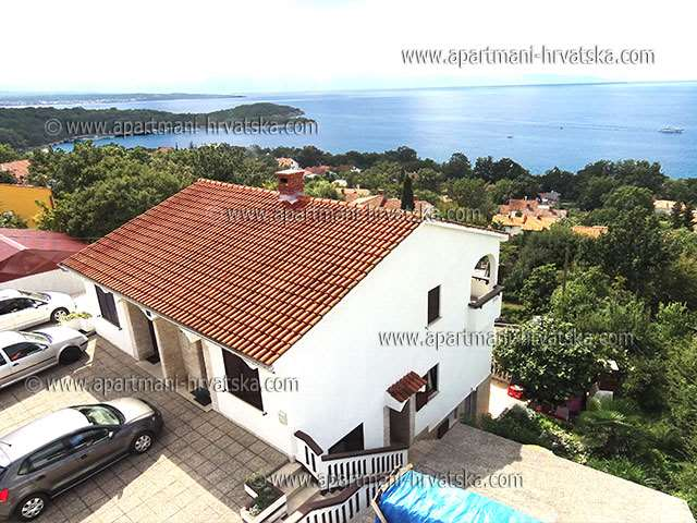 Apartments Croatia: Private Accommodation in place  NJIVICE