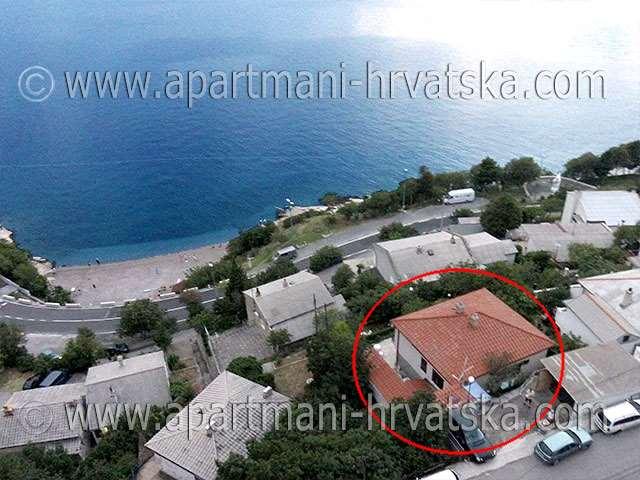 Апартаменты в Хорватии: Сень