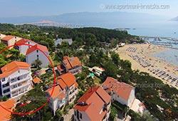 Lägenheter Kroatien: Lopar