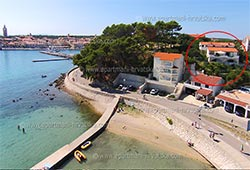 Апартаменты в Хорватии: Раб, Баньол