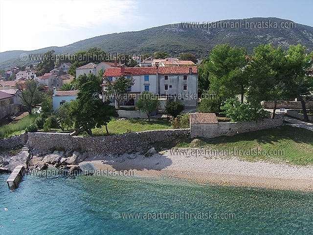 Lägenheter Kroatien: Nerezine