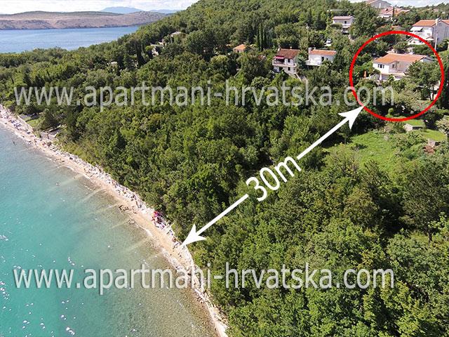 Appartamenti Jadranovo KLAIĆ DUBRAVKO
