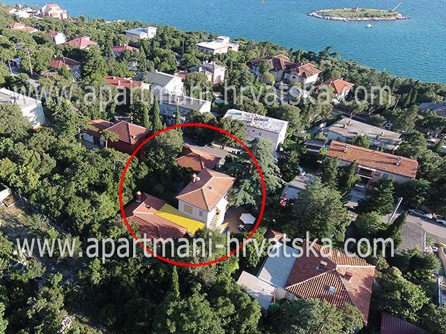 Apartmány Novi Vinodolski VILA VILMA VL. NEVENKA CERANIĆ