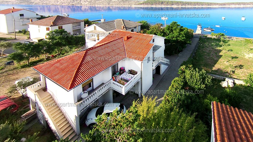 Holiday rentals Rab, Barbat KAŠTELAN ANTONIJA