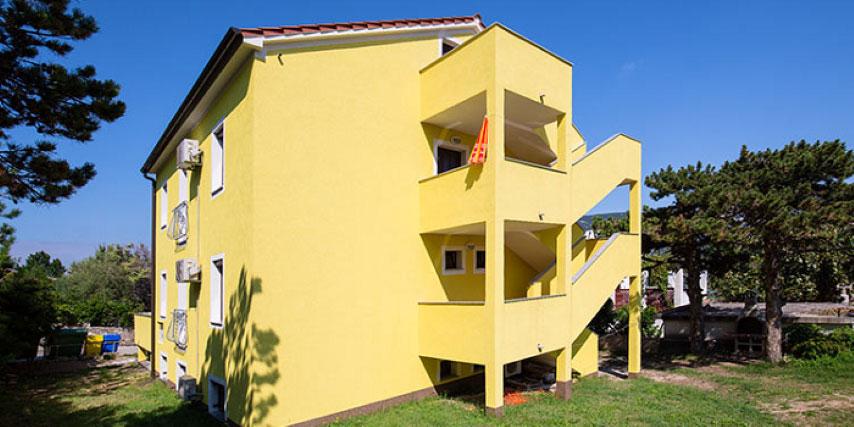 Appartamenti Baška RUBEŠA BORIS