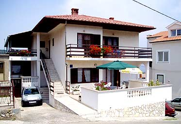 Lägenheter Kroatien: Vrbnik