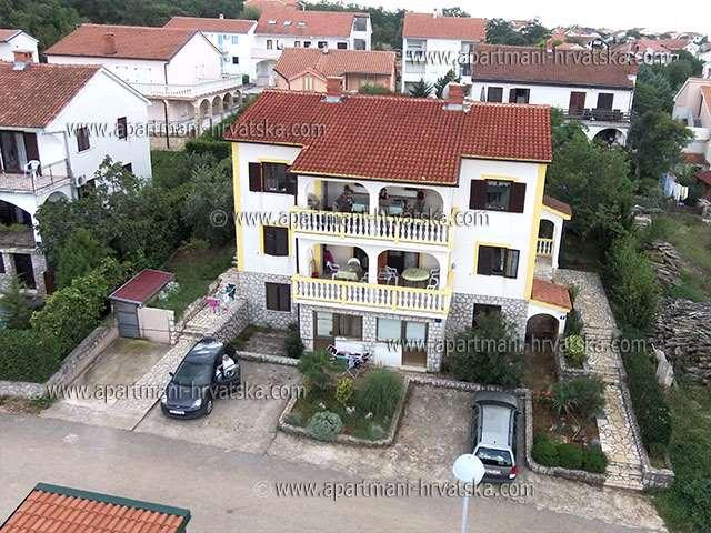 Apartmani Hrvatska: Njivice